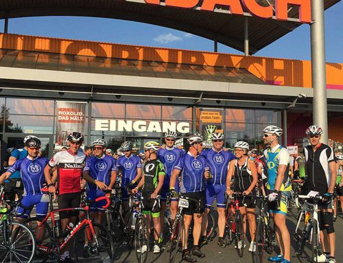 900 Teilnehmer bei der 13. Radtourenfahrt in Erlangen