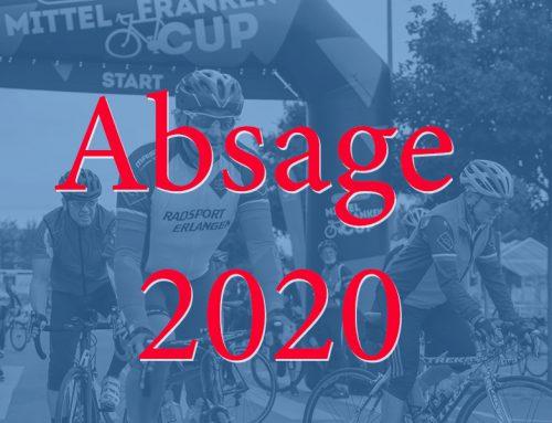 Absage RTF Erlangen 2020